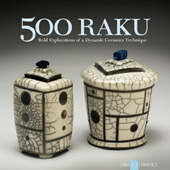 Cover for the book 500 Raku